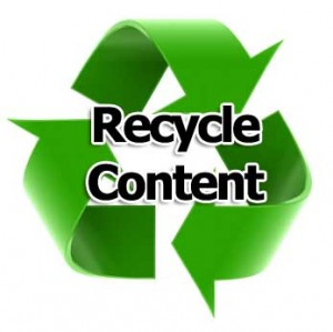 How to recycle your B2B Marketing Content