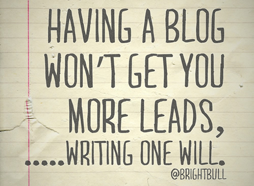 2 Key Lessons On The Importance of Blogging for B2B Lead Generation