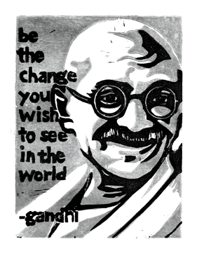 gandhi be the change resized 600