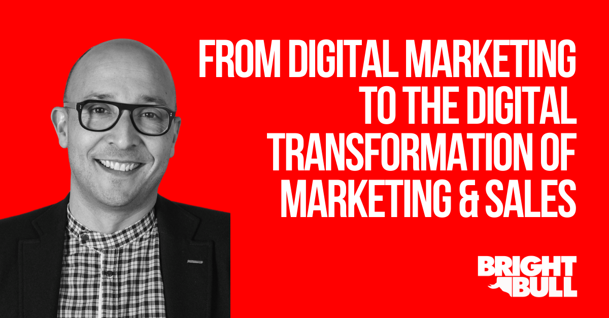 Thumbnail - From Digital Marketing to the Digital Transformation - 1200 x 627