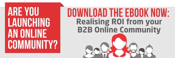 Download the ebook Realising ROI from your B2B Online Community